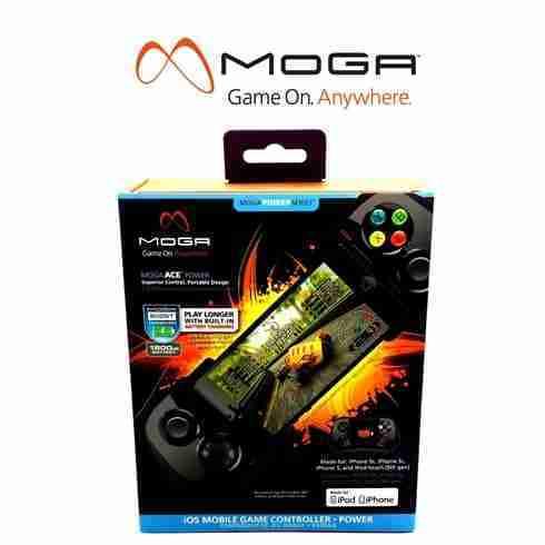 MOGA ACE Power จอยเกมมือถือ iPhone พับเก็บได้ พกพาสะดวก