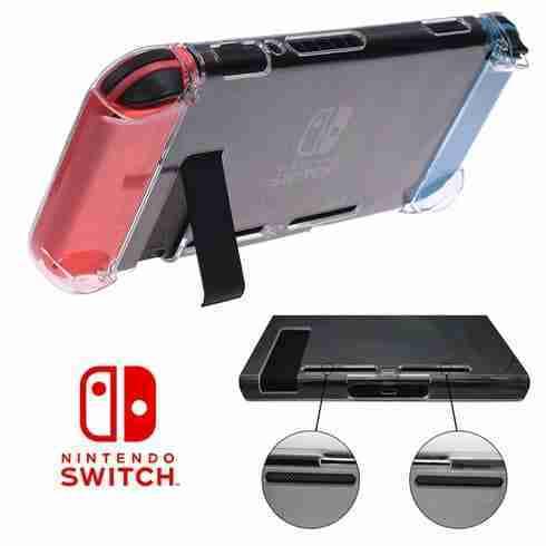เคส Nintendo Switch ด้านหลัง เว้นช่องระบายอากาศ และ ช่องของขาตั้ง