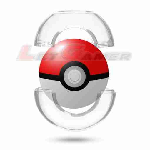 PokeBall Plus Crystal Protector Case